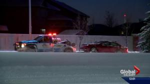 Snow and cold create tough commute in Calgary