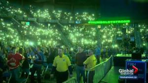 Special tribute concert held in honour of the Humboldt Broncos in Saskatoon