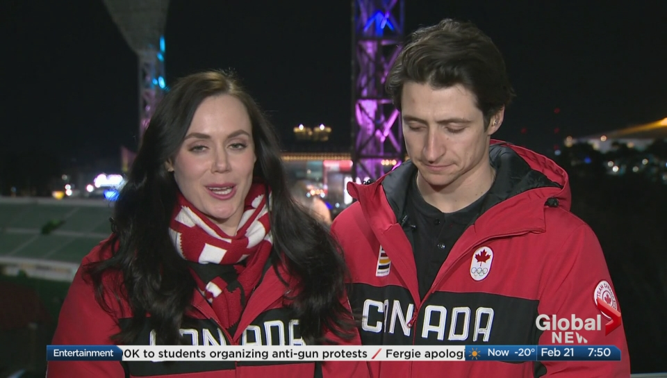 Sorry Canada, Tessa Virtue And Scott Moir Are Definitely Not Dating