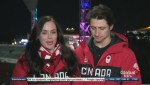Scott Moir and Tessa Virtue share their Olympic experience