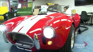 Durham College students gain hands-on experience building roadster from scratch