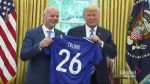 President Trump meets with new FIFA president Gianni Infantino