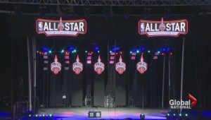 Toronto plays host to NBA All-Star Game