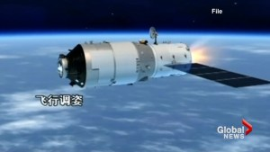 Chinese space station Tiangong-1 heading toward Earth for reentry