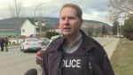Extended interview with Penticton RCMP regarding email bomb threats