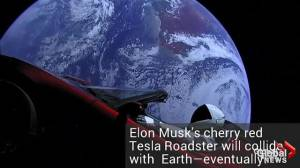 Will Elton Musk's 'Starman' and his Tesla Roadster crash into Venus – or even Earth?