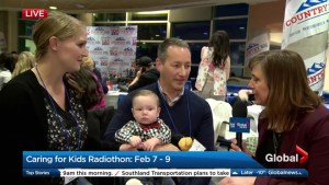 Parents thank ACH for saving their days-old newly adopted baby boy