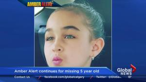 Amber Alert for Taliyah Leigh Marsman continues
