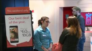 Phone fight: major Canadian carriers drop data prices