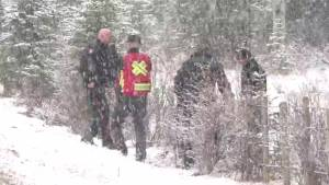 Calgary weather hampers double homicide search efforts