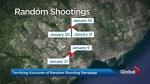 Etobicoke residents react to arrest in string of 'bizarre' random shootings