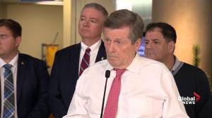 John Tory reacts to alleged group sexual assault at St. Michael's College: 'It's a very sad story'