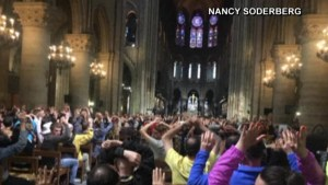 Two Americans locked inside Notre Dame Cathedral describe situation after man attacked officer