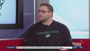 Zack Evans excited to be back in Riderville