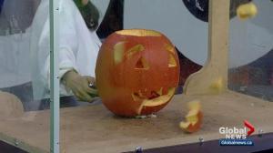 Get sparked: Exploding Pumpkin