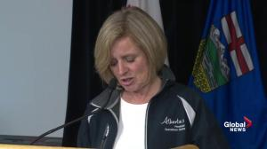Rachel Notley: The recovery of the municipality of Fort McMurray will occur in phases