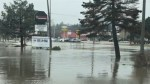 Orangeville, Ont. parking lots underwater as heavy rains flood southern parts of province