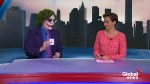 Mysterious 'Joker' takes over sports on Global News
