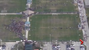 Hundreds of Florida students walkout of school to protest gun violence