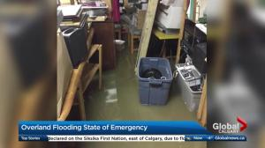 Overland flooding state of emergency