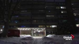 Extreme cold and little heat for an apartment building in The Town of Mount-Royal