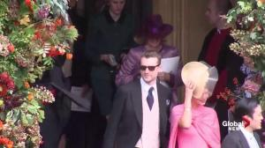 Guests depart royal wedding of Princess Eugenie, Jack Brooksbank