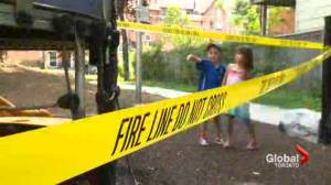 Cabbagetown kids lose playground after it was torched (02:16)