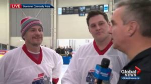Former NHLers speak about minor hockey at Minor Hockey Week