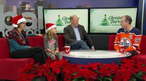 Edmonton girl supports Christmas Bureau Campaign