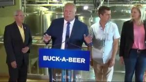 Ford's election promise of buck-a-beer is a bust