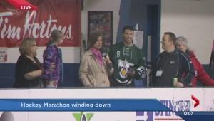 Hockey Marathon winds down