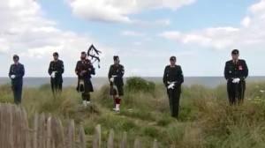 Trudeau leads Juno Beach 75th D-Day anniversary ceremony
