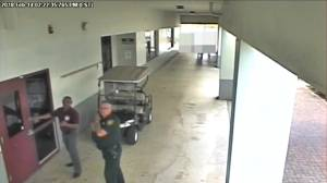 Video released shows Florida deputy not entering high school during shooting massacre