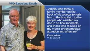 Canadian killed in Barcelona attack father of VPD officer