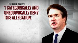 Woman accusing Supreme Court pick Brett Kavanaugh publicly comes forward
