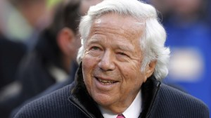 New England Patriots owner Robert Kraft faces two counts of soliciting prostitution