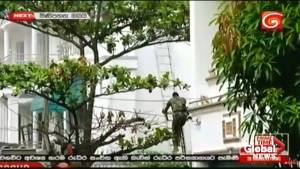 Sri Lankan security forces raid house in Colombo, arrest 7 (00:50)