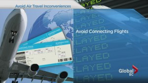 Travel: Avoiding air travel inconveniences