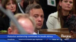 Pistorius sentencing continues in South Africa
