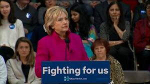 Hillary Clinton says Donald Trump's 'insult' on banning Muslims into US 'shameless, dangerous'