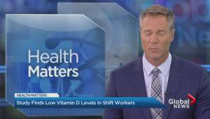 Low vitamin D levels in shift workers