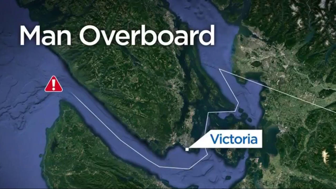 Man falls overboard from cruise ship off B.C. coast