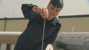 14 female Air Cadet graduates levelling out gender imbalance in the skies