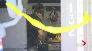 Police search Cranston home in double-homicide investigation