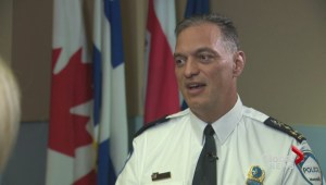 Police chief Philippe Pichet on racial profiling