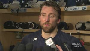 RAW: Winnipeg Jets Blake Wheeler Post Game Reaction – Apr. 12 (00:45)