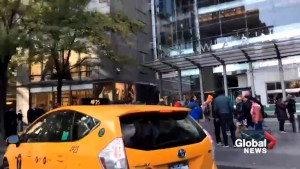 New York's Time Warner Center evacuated due to suspicious package