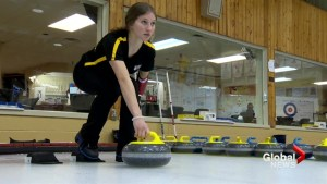 New Brunswick amputee curler inspires young athletes at the U18 nationals