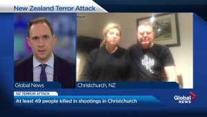 Vancouver couple describes terror of New Zealand mosque shooting