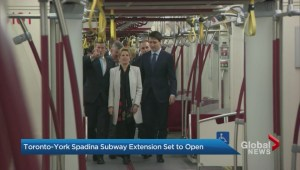 Toronto-York Spadina Subway Extension ready to open Sunday